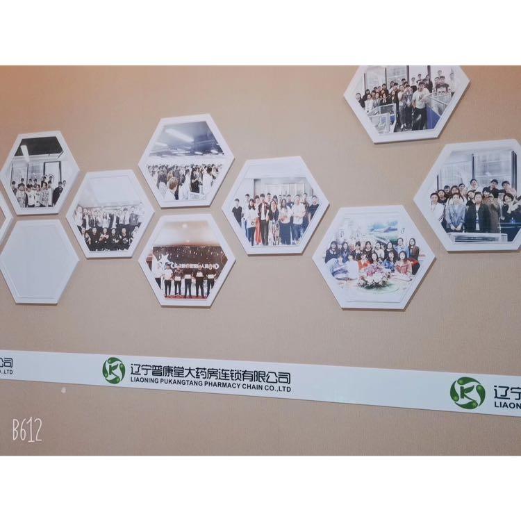 普康堂大药房连锁logo