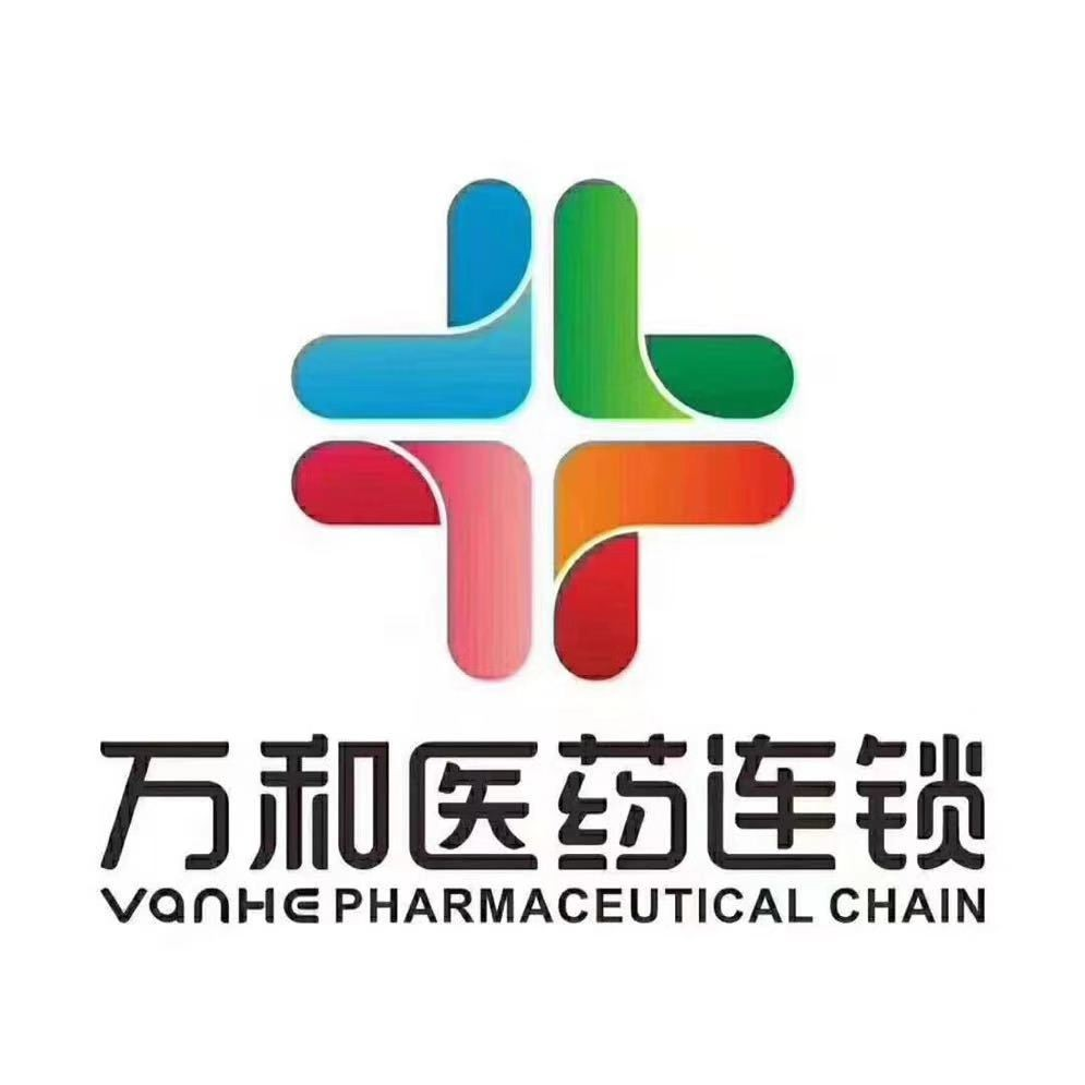 万和医药连锁logo