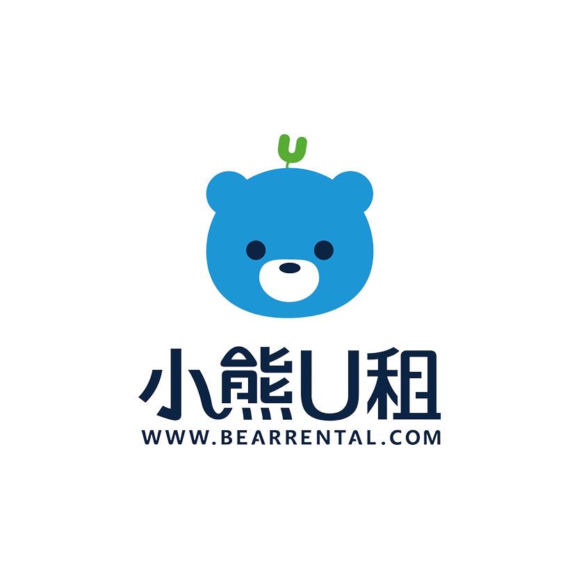 小熊U租logo
