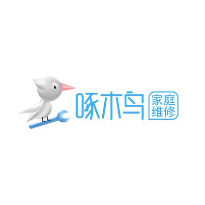啄木鸟家庭维修logo