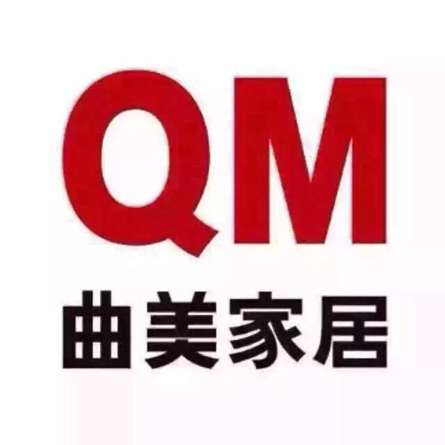 曲美家具logo