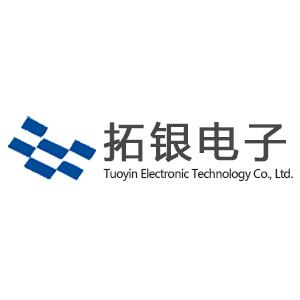 拓银电子logo