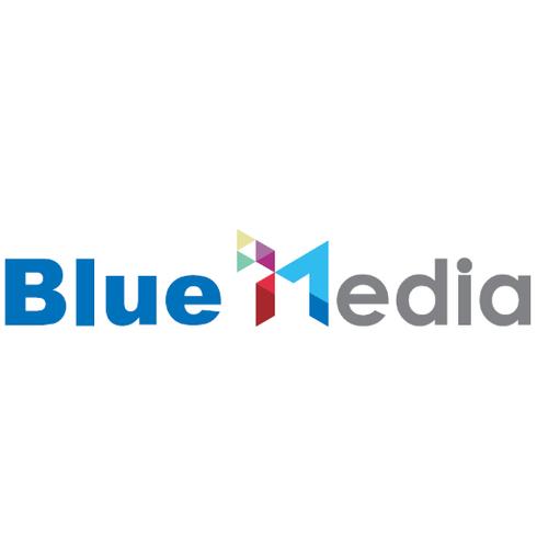 蓝标传媒logo