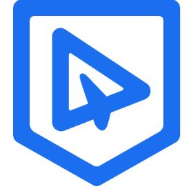 藍信移動logo