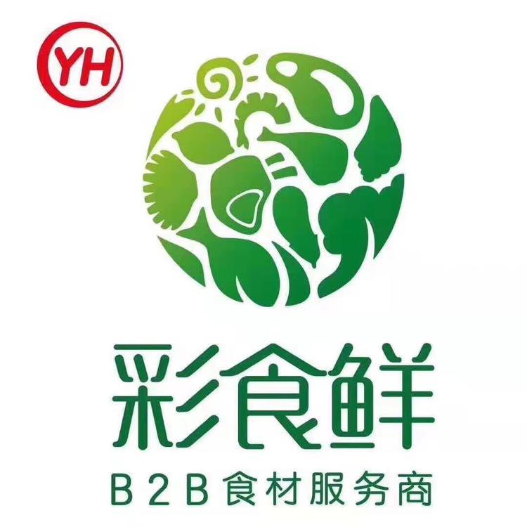 彩食鲜logo