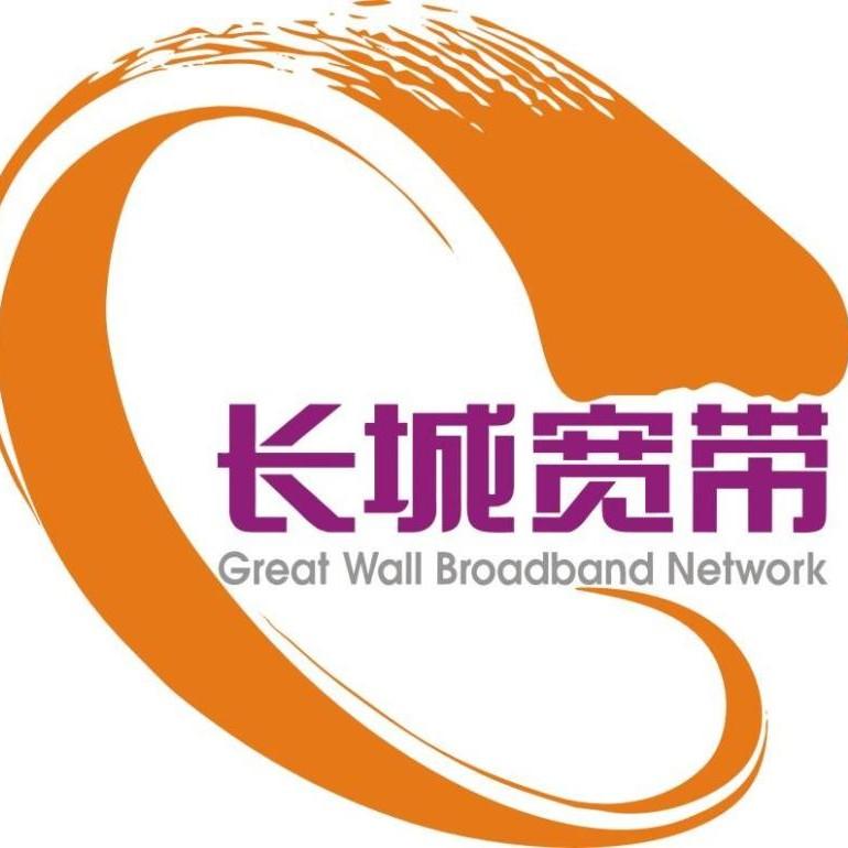 長城寬帶logo